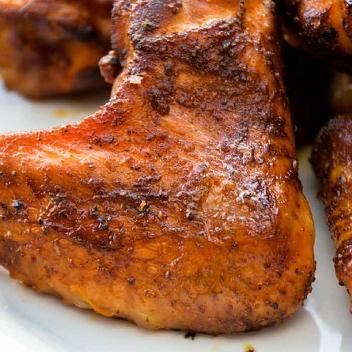 Baked Grilled Chicken Wings