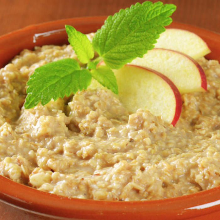 Oatmeal with Apple Slice
