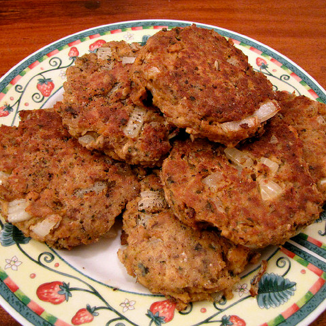 Salmon Croquette Patties