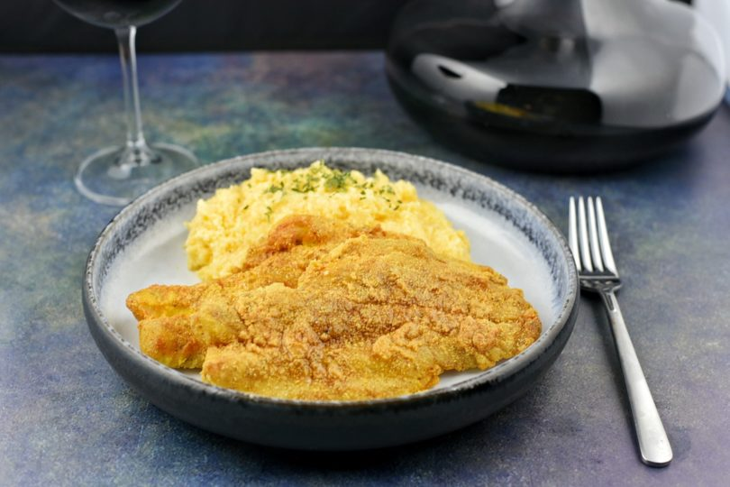 Fried Fish and Grits