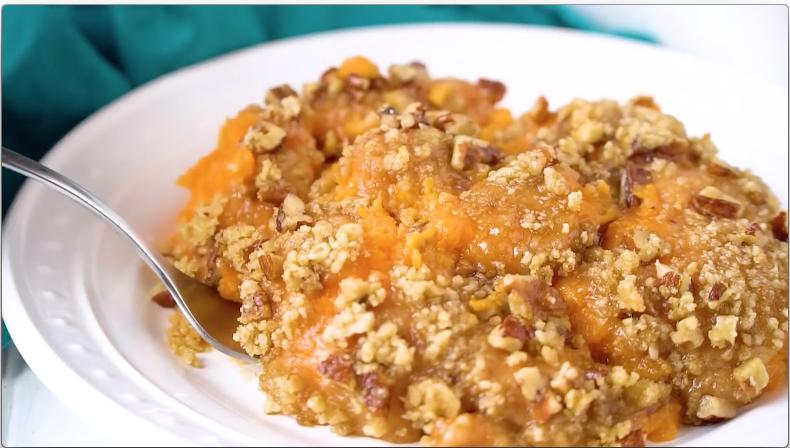 Sweet Sweet Potato Casserole