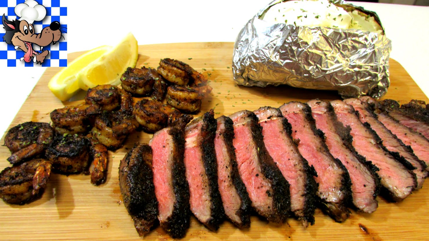 Cajun Blackened Steak & Shrimp