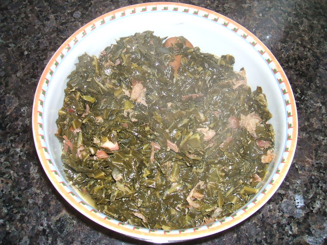 Collard Greens and Ham Hocks