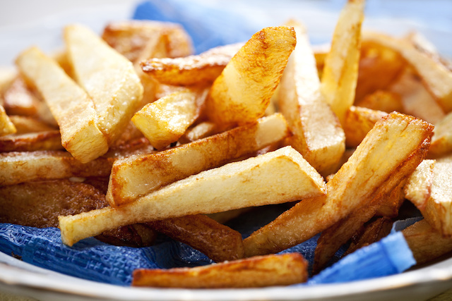 Homemade oven baked french fries - Southern french cuisine ...