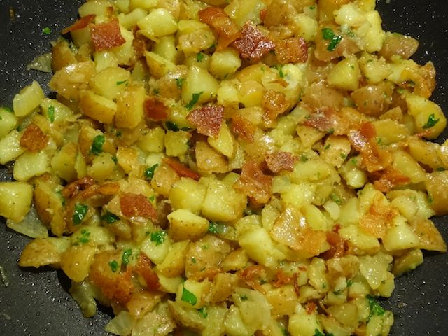 homemade fried potatoes