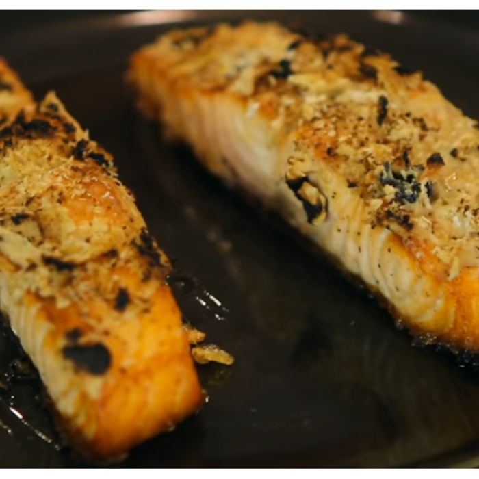 Oven Broiled Salmon