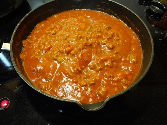Sausage Spaghetti Sauce