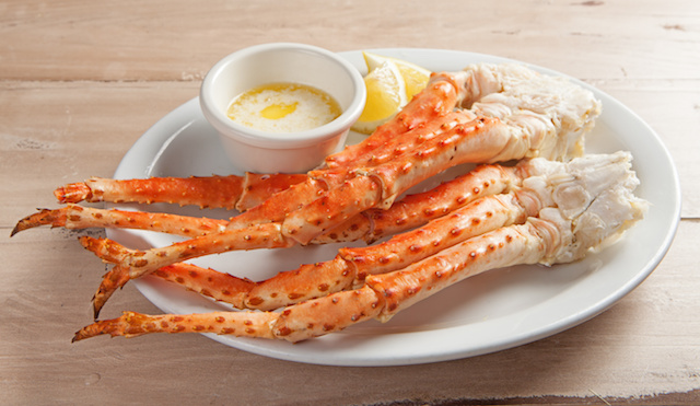 Baked Alaskan King Crab