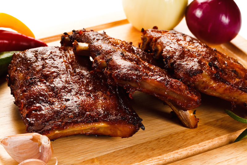 Lip Smacking Barbecue Ribs