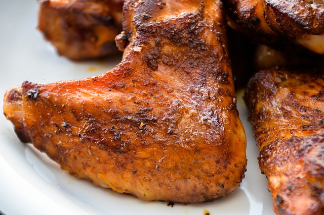 25 best ever memorial day recipes barbecued grilled chicken wings forumfinder Choice Image