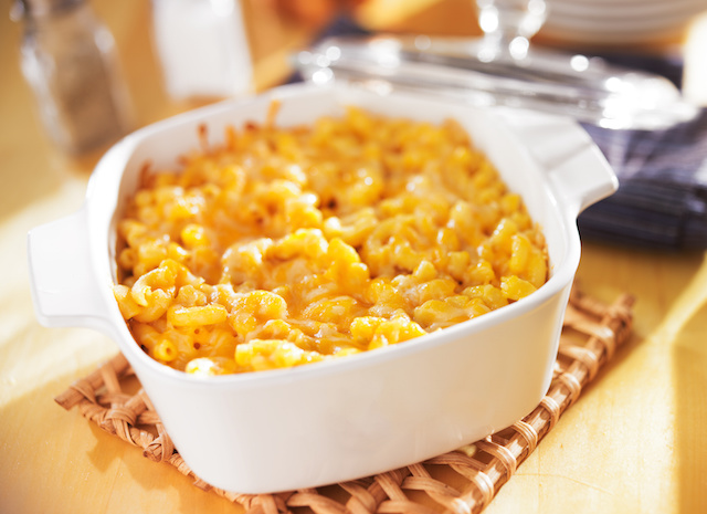 Baked Homemade Mac and Cheese