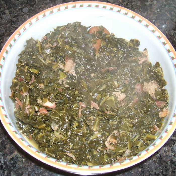 How to make collard greens without ham hock