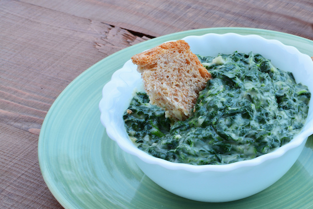 Creamed Spinach Dip
