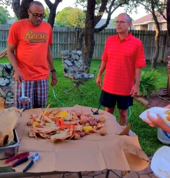 Shrimp Crab Sausage Seafood Boil