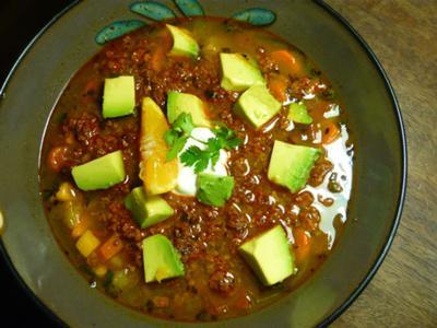Soyrizo Double Potato Soup 2